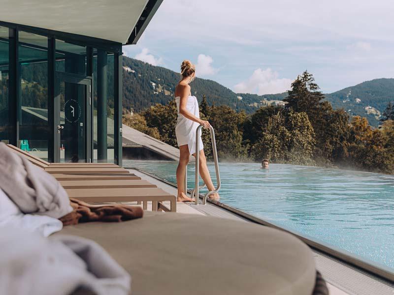 Umbau Pool Hotel Fernblick Montafon - OIA Architekten