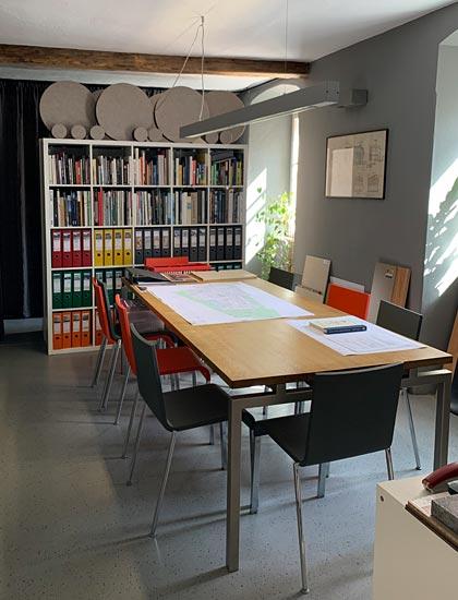 OIA architekturbüro - besprechungsraum hall in tirol