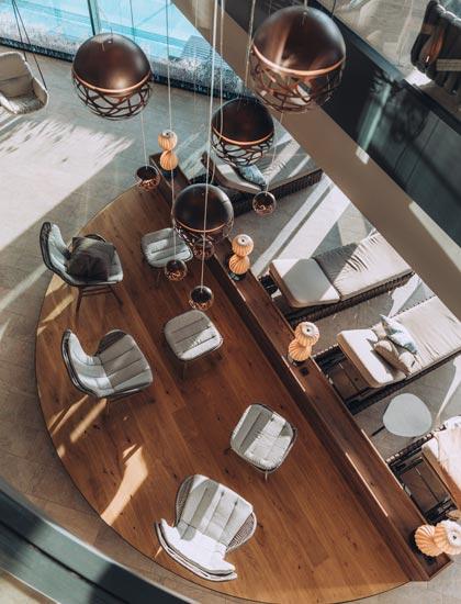 Umbau Wellness Hotel Fernblick Montanfon - OIA Architekttur